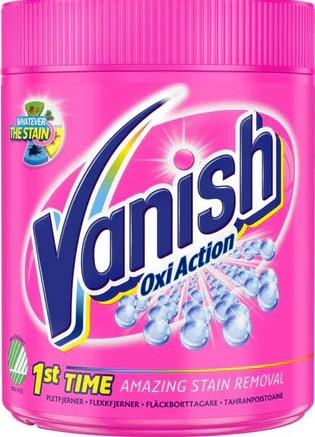 Пятновыводитель Vanish Oxi Action (цветное белье) 550г