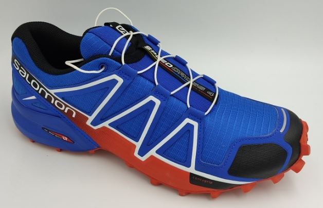 Salomon Speedcross 4 Blue Yonder/Black/Lava Orange , размер 8,5