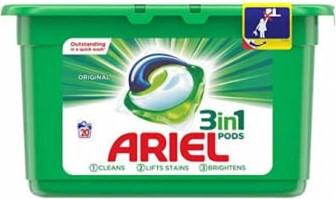 Капсулы для стирки Ariel (универсальные) 20шт