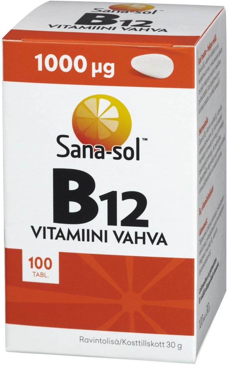 Витамины Sana-sol (витамин B12) 100таб