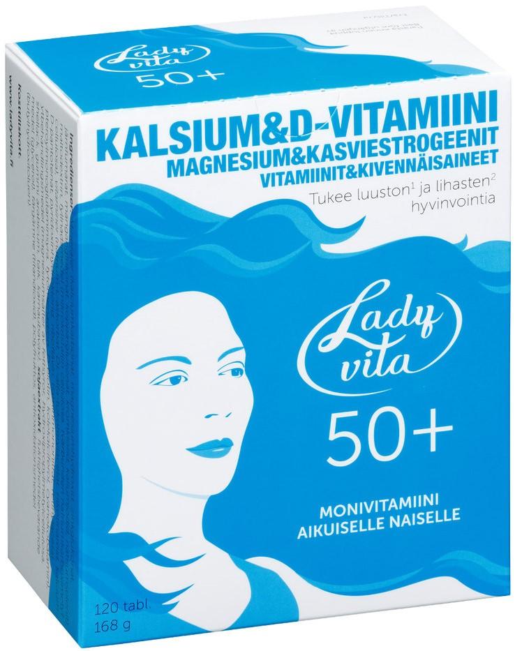 Витамины Ladyvita 50+ (120 таб)