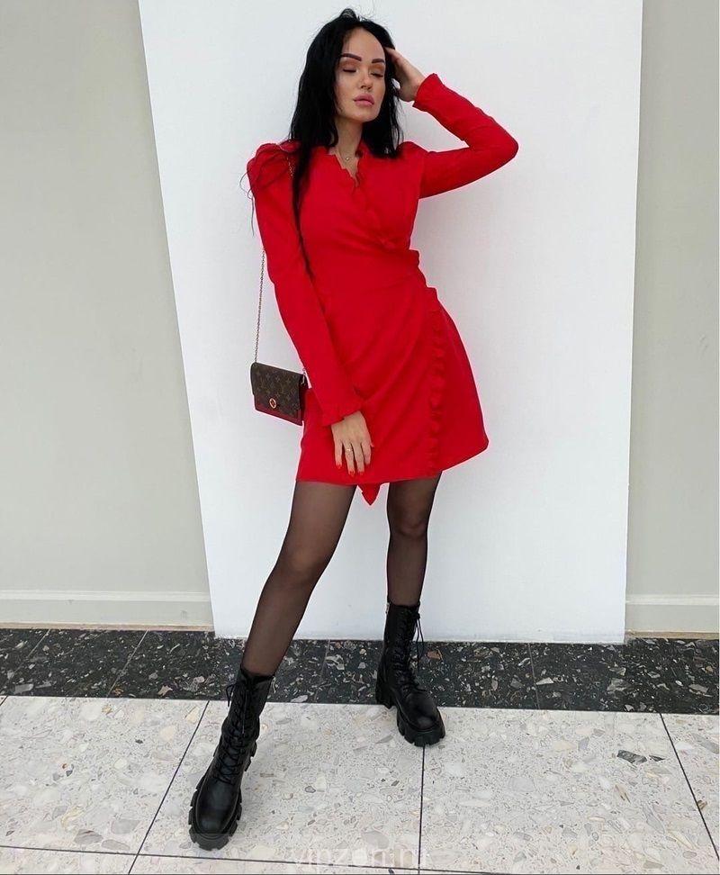 Стильная красивая моделька платья
