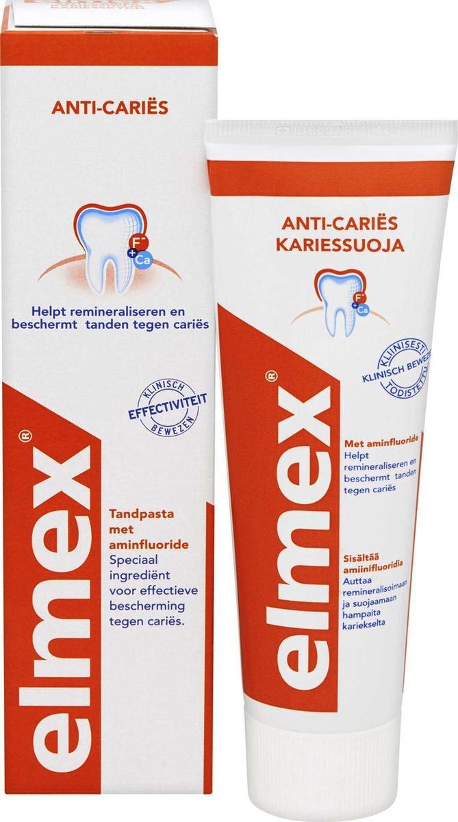 Зубная паста Elmex Защита от кариеса 75мл