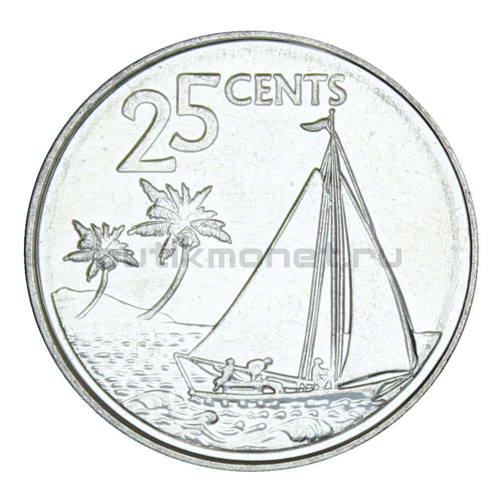25 центов 2015 Багамы