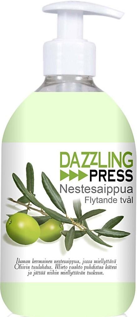 Жидкое мыло Dazzling Press (олива) 500мл