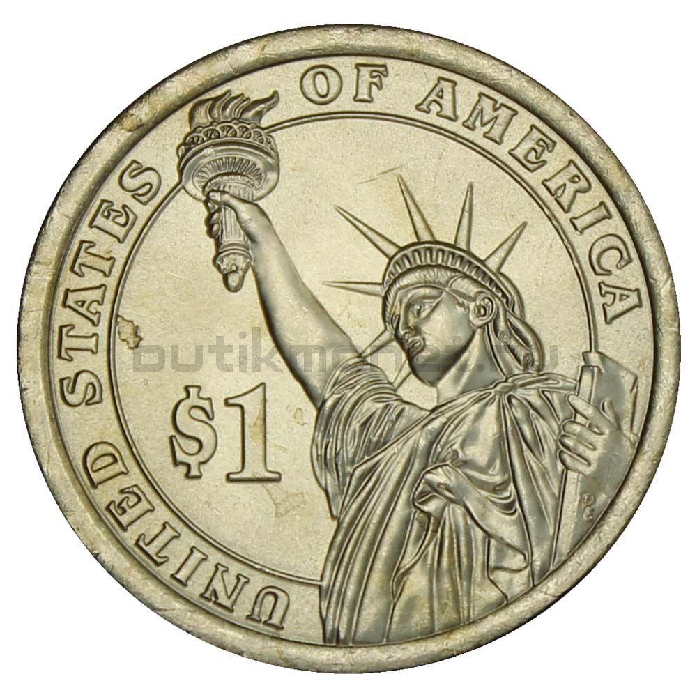 1 доллар 2014 США Уоррен Гардинг (Президенты США)