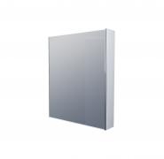 Зеркало-шкаф 1Marka Соната 60 1д. Белый глянец