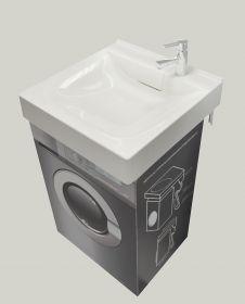 Раковина 1Marka Laundry 600*600