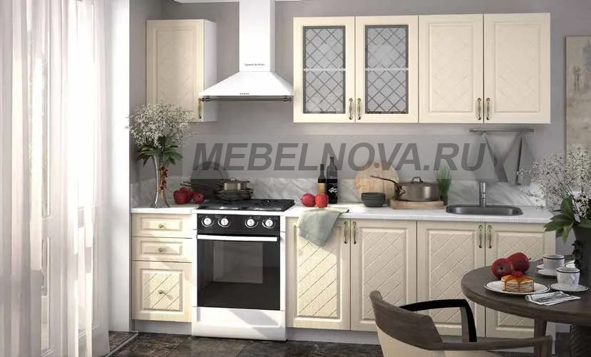 Кухня Модена 1,6м (модульная)