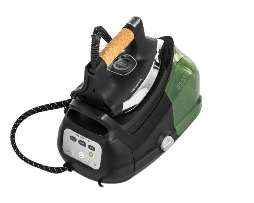 Парогенератор Rowenta DG 8666 черный/зеленый/серебристый
