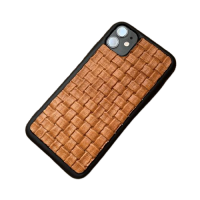 """Кожаный чехол-накладка """"Плетенка"""" для iPhone"""