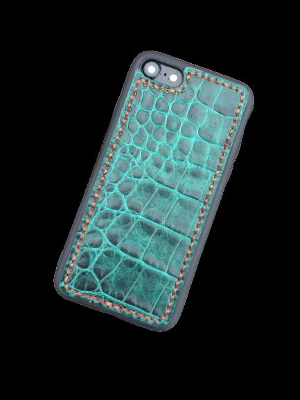 """Кожаный чехол-накладка """"Art Color"""" на iPhone"""