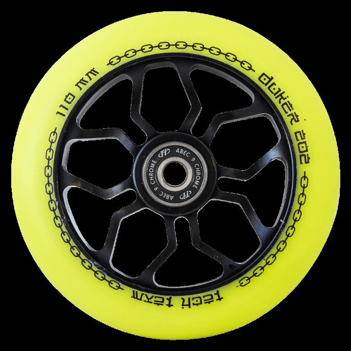 Колесо для самоката 110 mm DUKER 202 желтое
