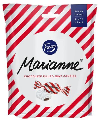 Конфеты Fazer Marianne (мятные с шоколадной начинкой) 220г