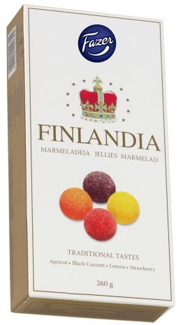 Мармелад Fazer Finlandia (ассорти) 260г