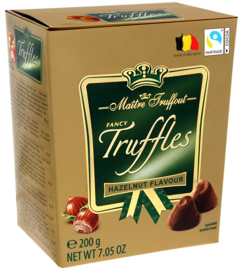 Трюфели Maitre Truffout (фундук) 200г