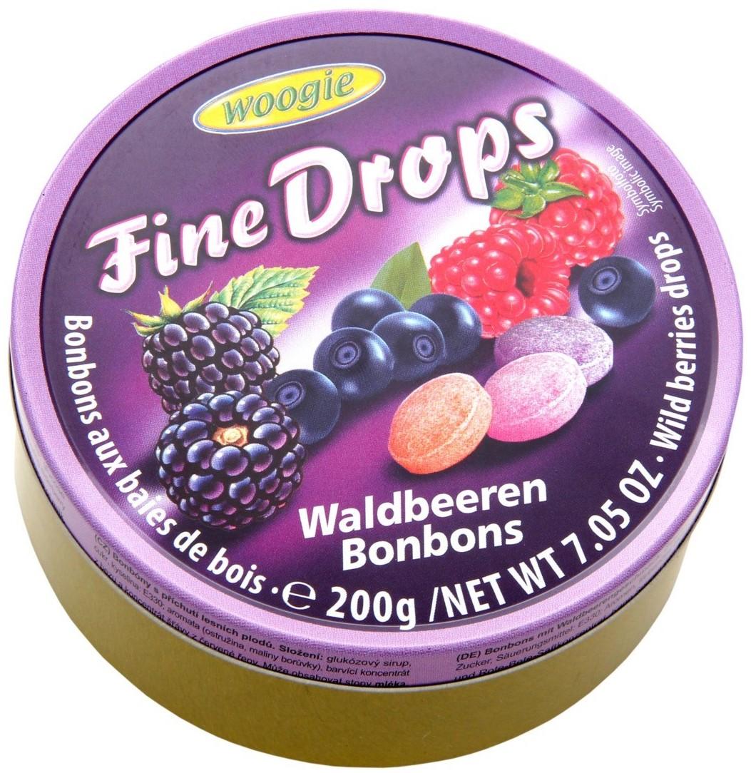 Леденцы Woogie (лесные ягоды) 200г