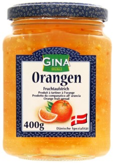 Джем Gina (апельсин) 400г