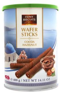 Вафельные трубочки Feiny Biscuits (какао, орех) 400г