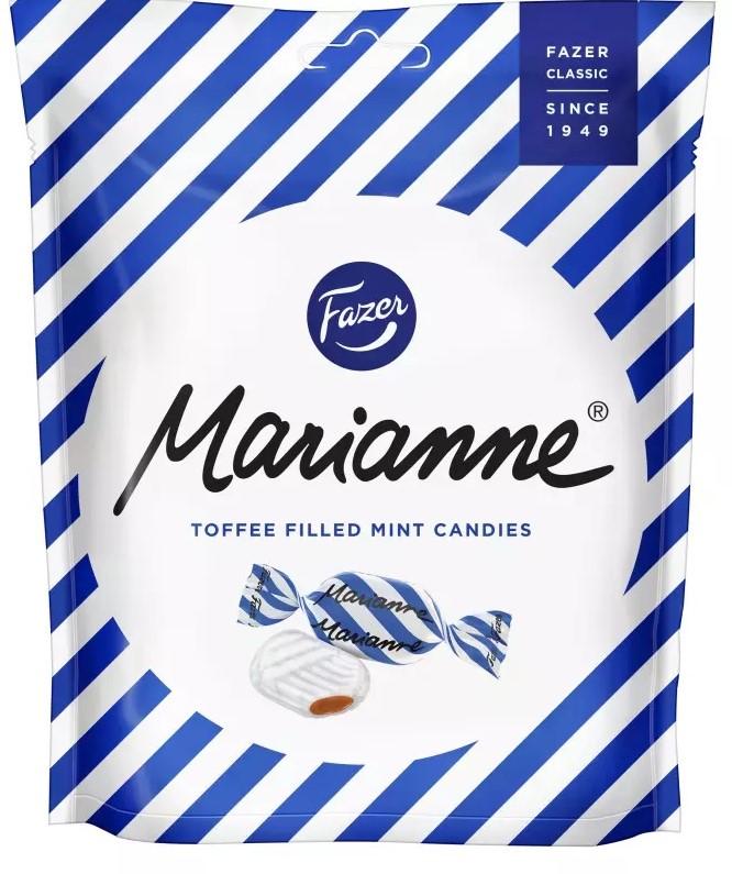 Конфеты Fazer Marianne (мятные с ирисом) 220г