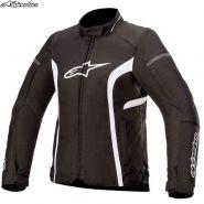Куртка женская Alpinestars Stella T-Kira V2 Waterproof, Черно-белая