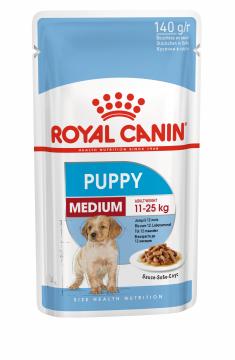 Медиум Паппи влажный корм (Medium Puppy) 140г.