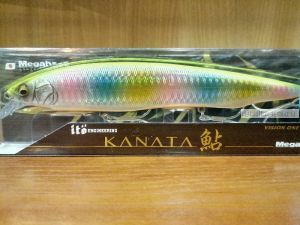 Воблер Megabass Kanata Ayu 160F SW 160 мм / 30 гр / Заглубление: 0,8 - 1,2  м / цвет: GG Chart Back Rainbow (JP)