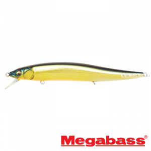 Воблер Megabass Vision Oneten Magnum SP 130 мм / 21,2 гр / Заглубление: 0,6 - 1,5 м / цвет: M Champange Kinkuro