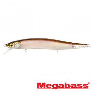 Воблер Megabass Vision Oneten Magnum SP 130 мм / 21,2 гр / Заглубление: 0,6 - 1,5 м / цвет: Stealth Wakasagi