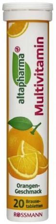 Витамины Altapharma Мультивитамины (апельсин) 20шт