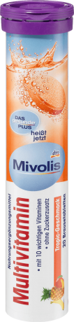 Витамины Mivolis (мультивитамины) 20шт
