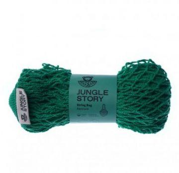 Авоська Green Зелёный Насыщенный удлиненная ручка на плечо Long Handle