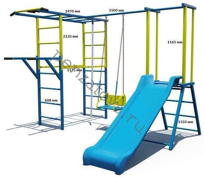Игровая детская площадка-комплекс Непоседа