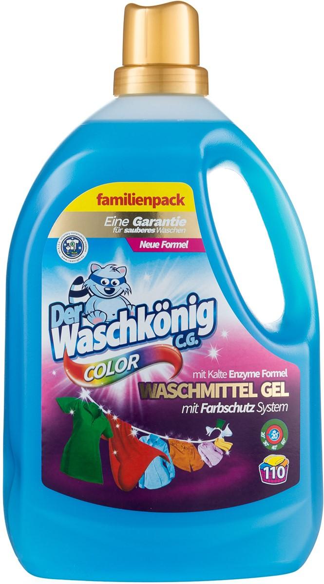 Гель для стирки Der Waschkonig (цветное белье) 3,305л