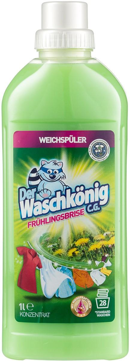 Кондиционер для белья Der Waschkonig Весенний бриз 1л