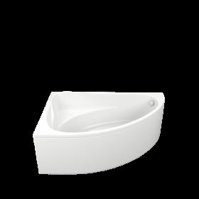 Акриловая ванна BAS Милан 170x110 левая В 00061