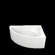 Акриловая ванна BAS Милан 170x110 правая В 00062