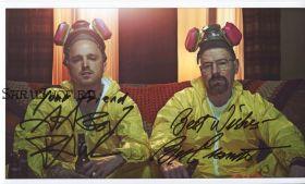 Автографы: Брайан Крэнстон, Аарон Пол. Во все тяжкие / Breaking Bad