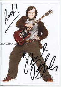 Автограф: Джек Блэк. Школа рока