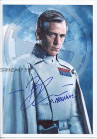 Автограф: Бен Мендельсон. Изгой-один: Звёздные войны. Истории