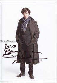 Автограф: Бенедикт Камбербэтч. Шерлок / Sherlock