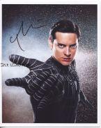 Автограф: Тоби Магуайр. Человек-паук 3: Враг в отражении