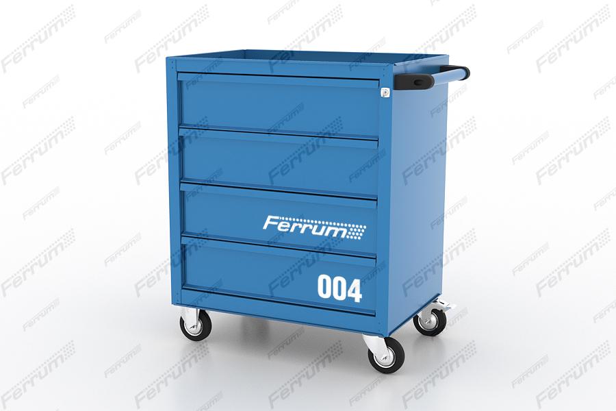 Ferrum Тележка инструментальная с 4 ящиками. Серия L