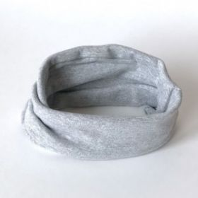 HOH ШВ20-00270490, Снуд двухслойный серый меланж