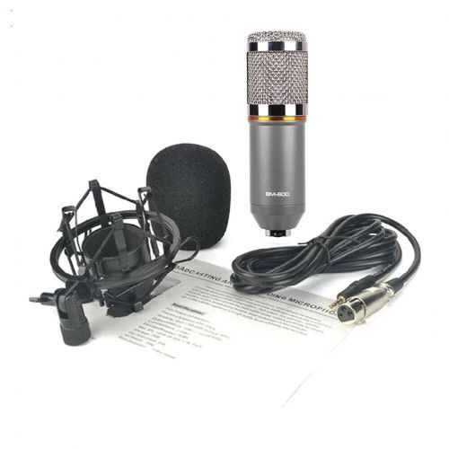 Конденсаторный студийный микрофон BM 800 с подставкой