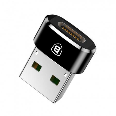 Переходник Baseus USB Type-C - USB (CAAOTG)