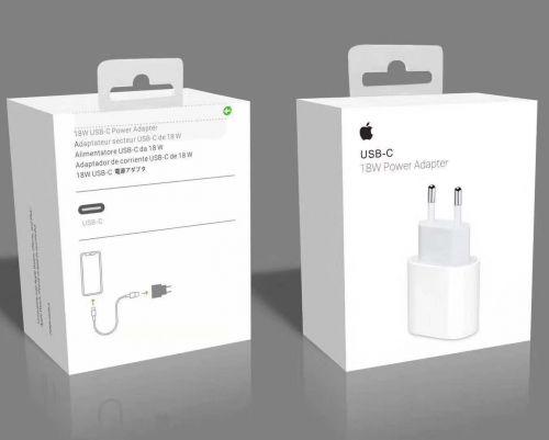 Сетевое зарядное устройство для Apple USB-C Power Adapter 18W