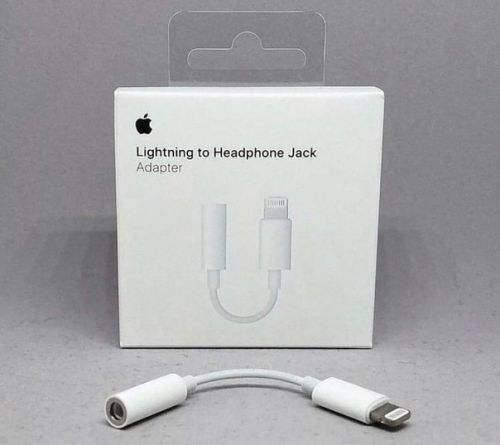 Переходник Apple Lightning - mini jack 3.5