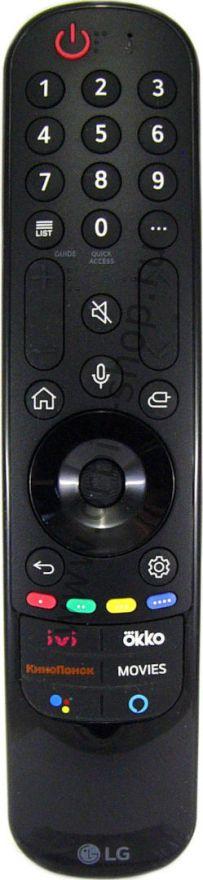 Пульт ДУ Magic Remote LG MR21GA, 2021г.