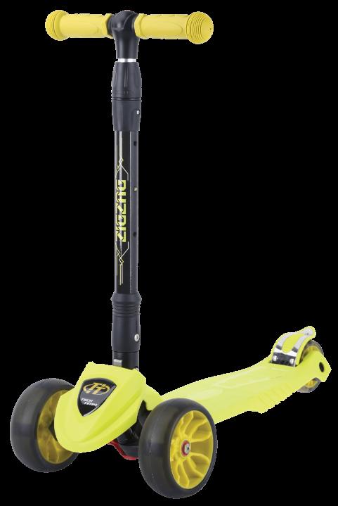 Самокат TT ZIGZAG 2021 лимонный